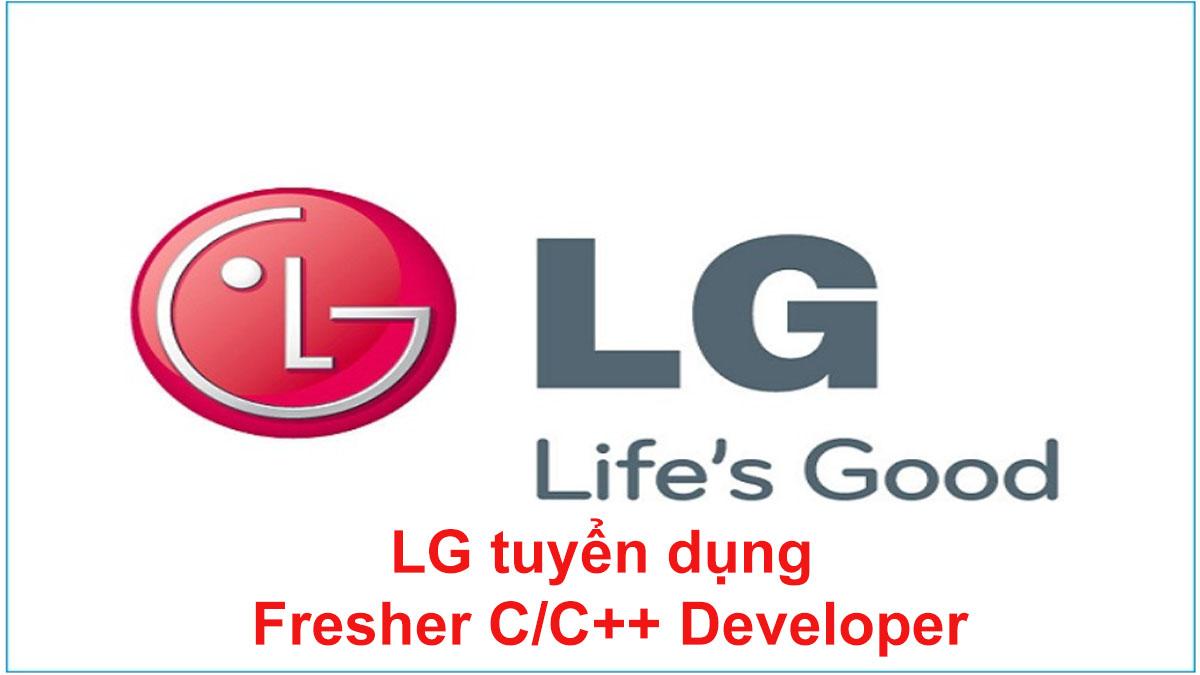 LG tuyển dụng nhân viên Fresher C/C++ Developer