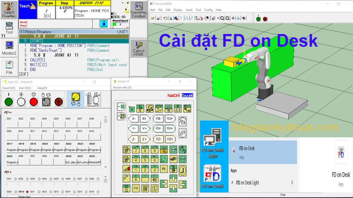 Hướng dẫn cài đặt FD on Desk
