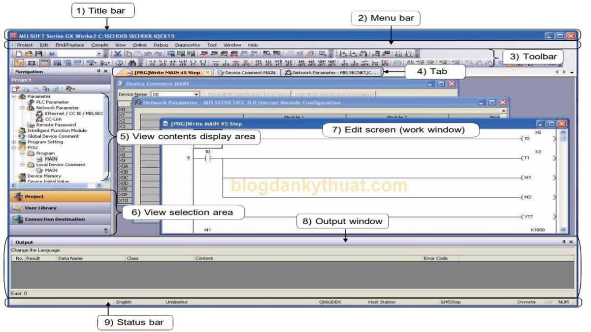 phần mềm GX-Works 2