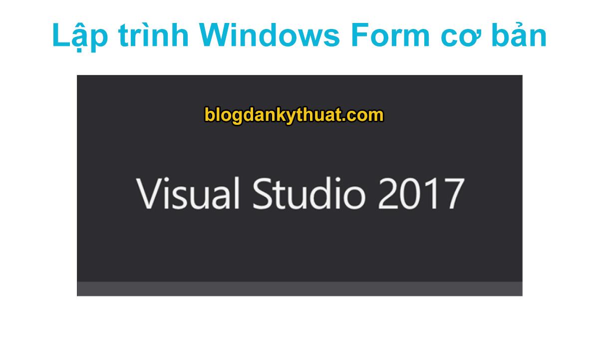 lập trình windows form cơ bản